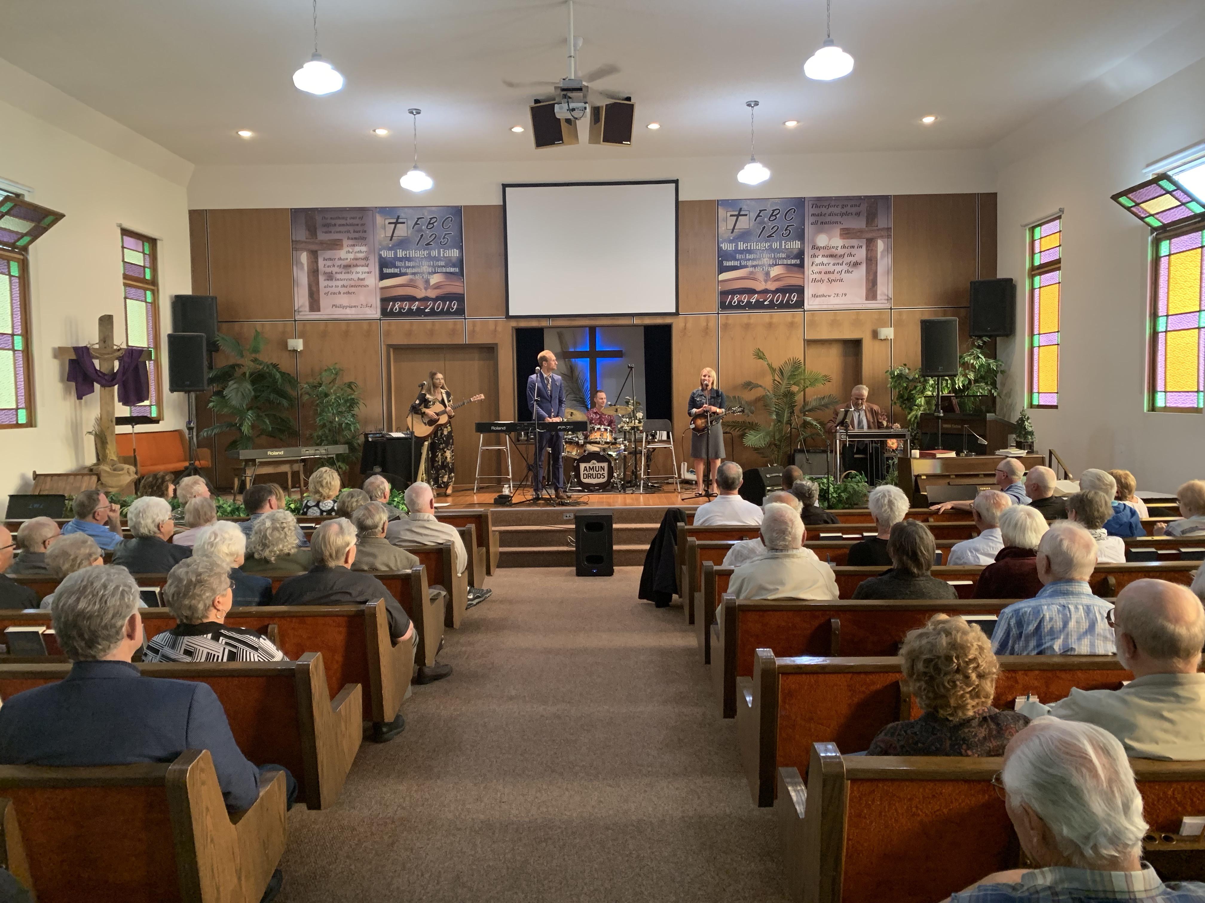 125th Anniversary Sermon for First Baptist Church - Leduc